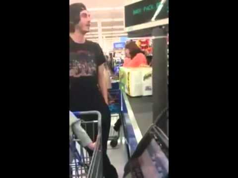 Woman Snaps On A Family At A Walmart Over Food Stamps!