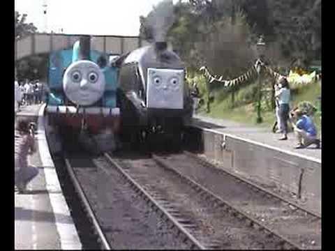 Steam Thomas The Tank Races Spencer Bittern 60019 Youtube