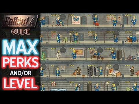 Max Out Character • Fallout 4 Easy Guide • Max Perks • Max Level • Max  Special Skills