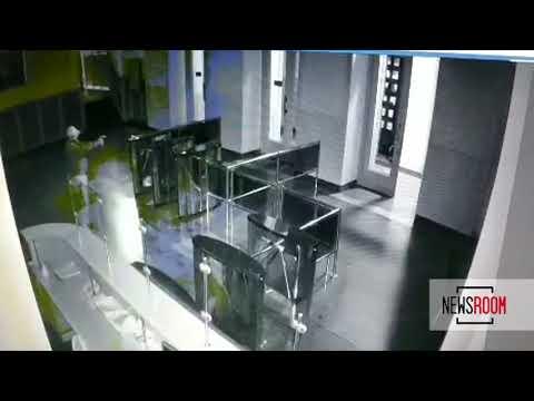 Стрельба в здании харьковской мэрии. Видео с камер