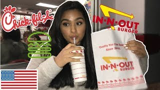 CANADIANS TRY BEST RATED AMERICAN FAST FOOD FOR THE FIRST TIME...