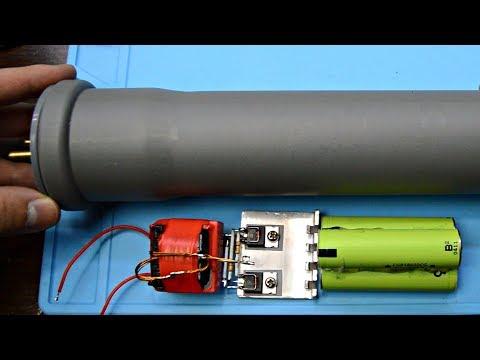видео: ✅Мощный ЭлектроШокер своими руками из старой техники
