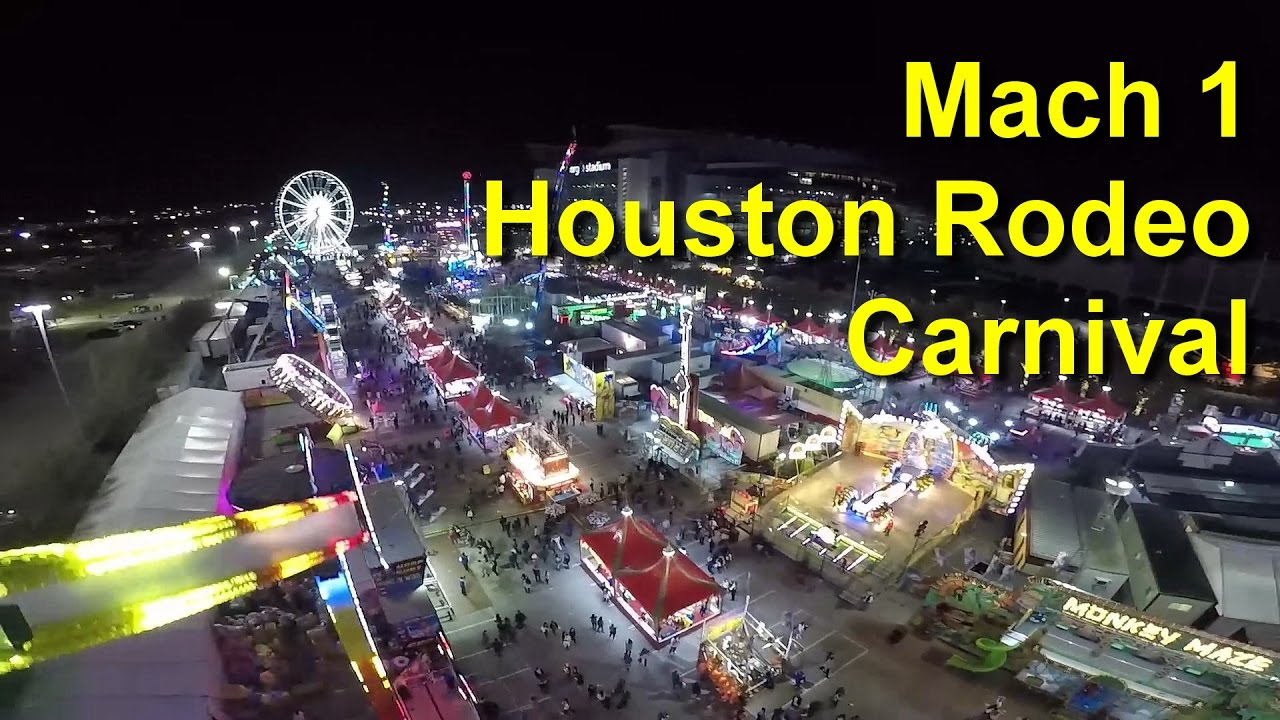 Mach 1 On Ride POV Houston Rodeo Carnival 2017 GoPro HD