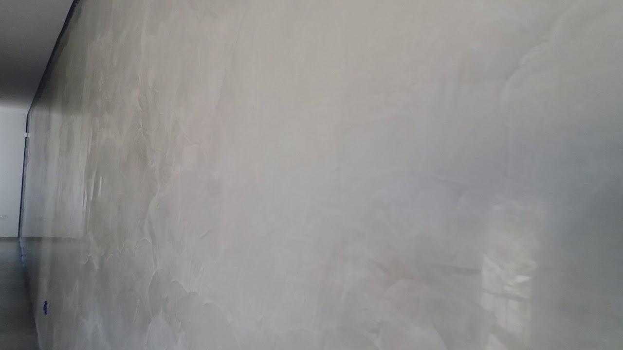 Pittura Stucco Veneziano Foto light grey stucco veneziano - youtube