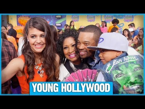 Amber Montana Chats with Kendall Schmidt, Jake Short, & More at the Kids Choice Awards!