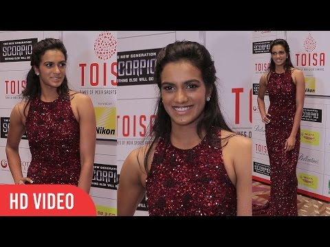 P. V. Sindhu At TOI Sports Awards 2nd Edition | The Times Of India Awards