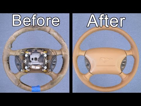Thumbnail: How To Restore Your Car's Steering Wheel (Looks Brand New!)