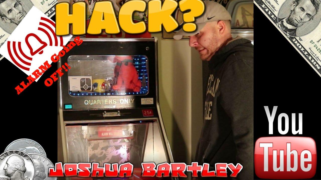 Shake Coin Pusher Alarm Goes OFF!| Hack Unplugging & Tilting??| Joshua  Bartley