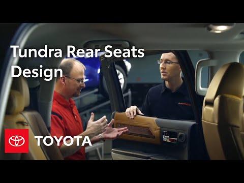 Tundra Design: CrewMax Rear Seats | 2014 Tundra | Toyota
