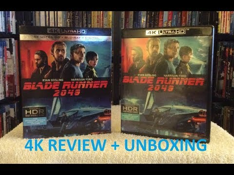 Blade Runner 2049 4k Ultra Hd Blu Ray Review Unboxing Youtube