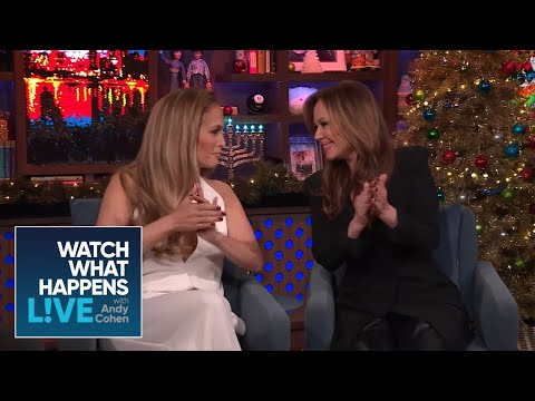 V Gomez - BFF's JLo & Leah Remini Are Really BFF's! (Watch)