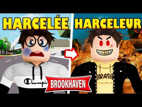 D'INTELLO HARCELÉE À HARCELEUR SUR BROOKHAVEN ! | ROBLOX BROOKHAVEN MINI FILM RP