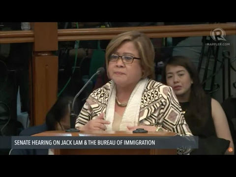 De Lima, Aguirre face-off at Senate hearing