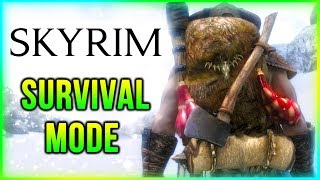 Skyrim 10 Mods for a Realistic SURVIVAL Mode