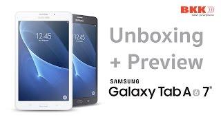 """แกะกล่อง+พรีวิว Samsung Galaxy Tab A 2016 7"""""""