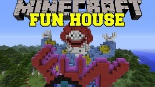 Minecraft: FUN HOUSE (A RIDE THROUGH PURE EVIL!) Map