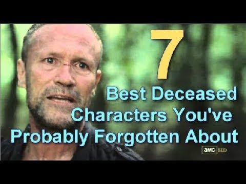 7 Best Deceased Walking Dead Characters You've Probably Forgotten About