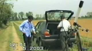 Transito di Mercurio sul disco solare (2003)