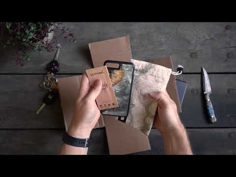 Unboxing a Carved Wood+Resin Phone Case