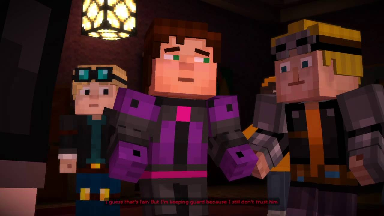 minecraft story mode episode 6 saving dantdm
