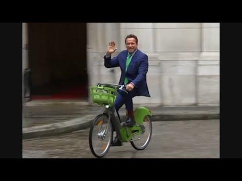 Schwarzenegger Pushes Climate Pact in Paris