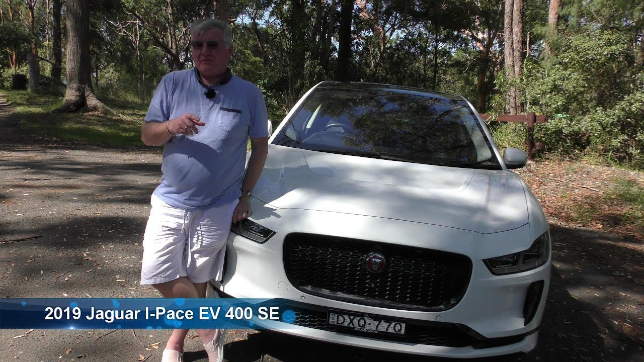 Jaguar I Pace SE EV400 Drive and review in Galston Gorge