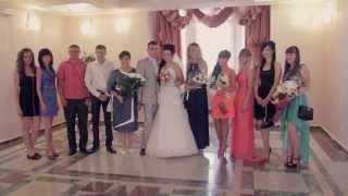 Свадьба в Йошкар-Оле 2013 (одевание, выкуп, новый загс)