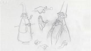 NEW PERK!! Don Bluth Draws Hands & Eyes