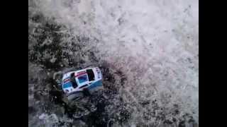 My Nikko VaporizR drifting car on snow/ice