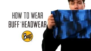 How to Wear Original BUFF® Headwear