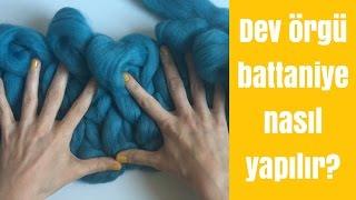 Dev Örgü Battaniye Kolayca Nasıl Yapılır? | 10marifet