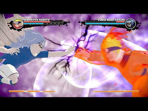 Naruto Vs Sasuke Final Battle - Naruto The Broken Bond