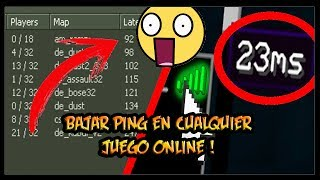 How to reduce ping in any online game 2017 | RojedaHD
