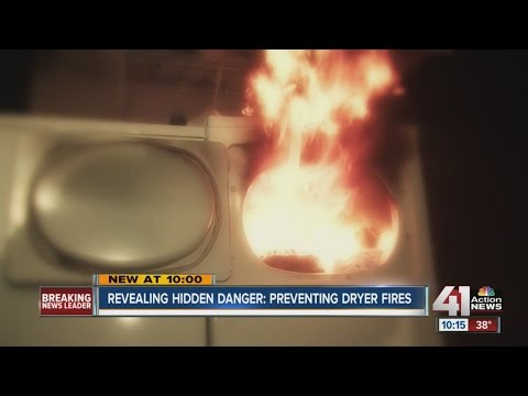 Preventing dryer fires: Experts say keeping your lint trap clean is just part of the safety cycle