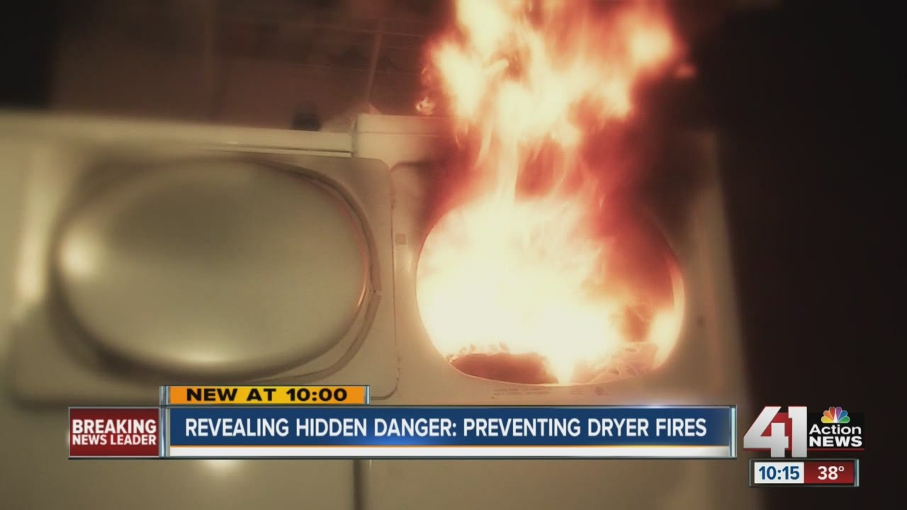 Preventing Dryer Fires Experts Say Keeping Your Lint Trap