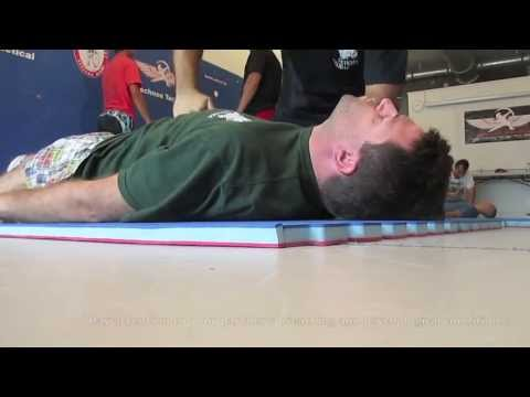 Breathing and Fear Drill #3 - Russian Martial Art Systema Miami - Konstantin Komarov style
