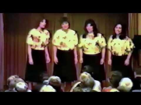 Melo Edge Barbershop Quartet,1983 Sweet Adelines International Quartet Champion