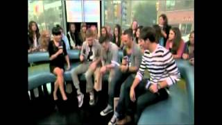 Big Time Rush gets initiated into the NML family by doing dares. Ke...