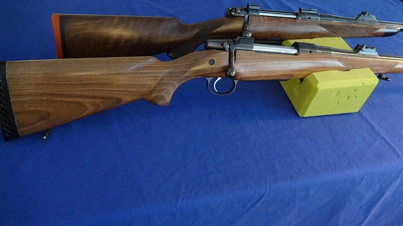 CZ 550 and BRNO Rifles