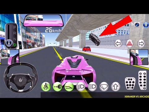 3D Driving Class #80 - | Pink Car & Crazy Driver | - VERSION 19.7 - Best Android Gameplay