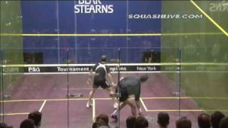 White Vs Gaultier squash best rally ever