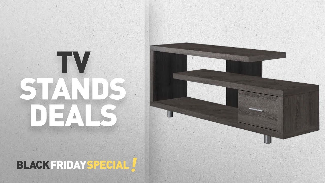 black friday tv stands by monarch specialties amazon black friday countdown youtube. Black Bedroom Furniture Sets. Home Design Ideas