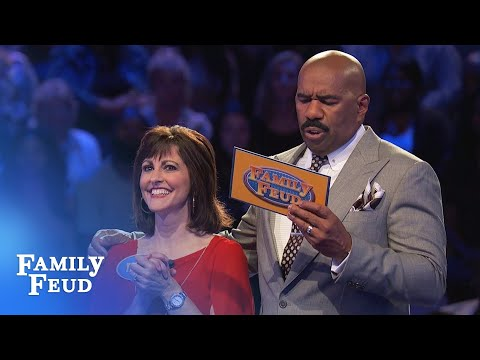 It's gonna be CLOSE!   Family Feud