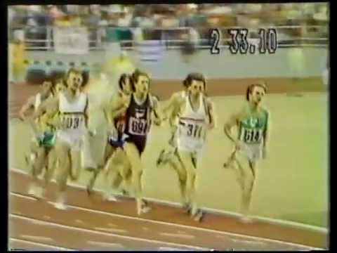 Sir John Walker - Olympic 1500m Final, Montreal 1976