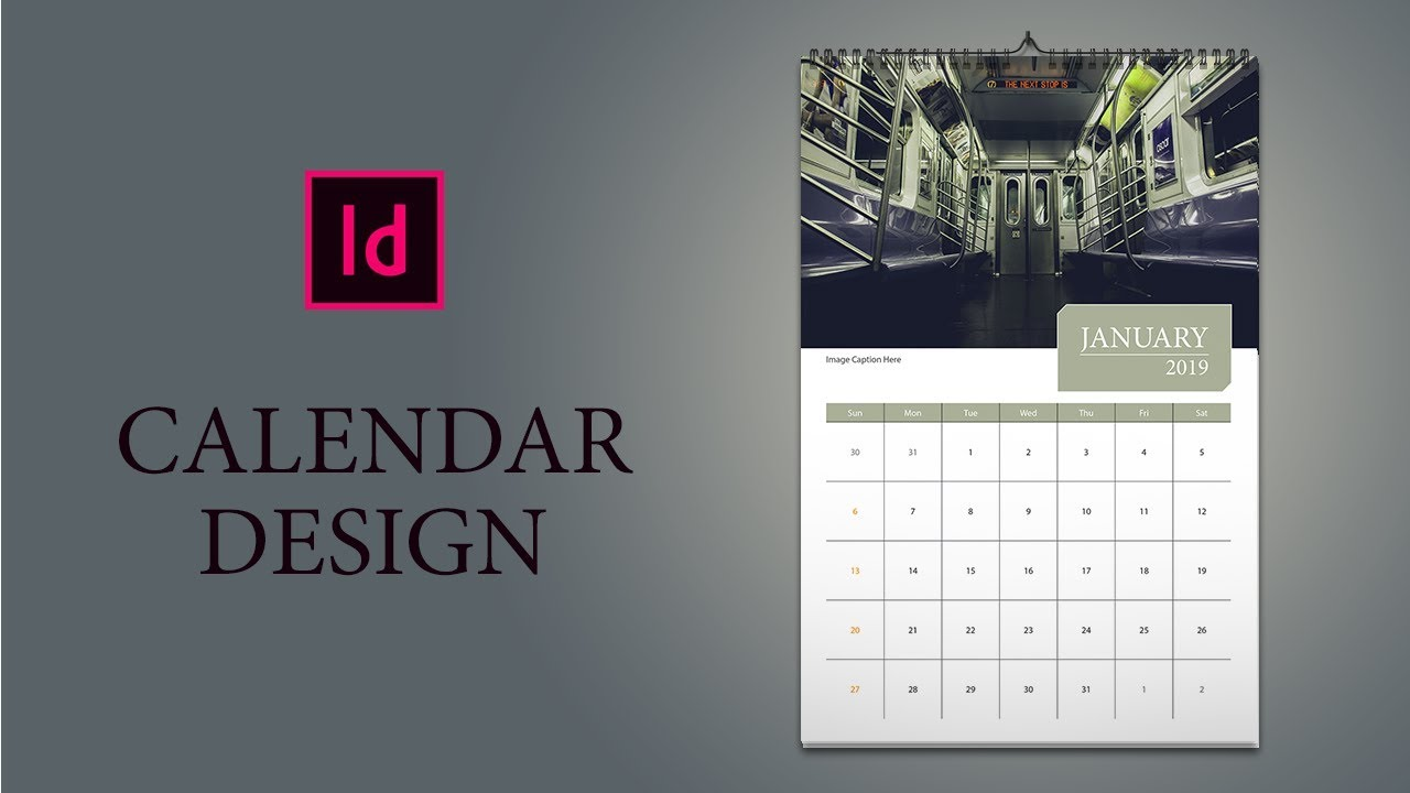 Only 16 Minutes: How to design Calendar in InDesign   YouTube