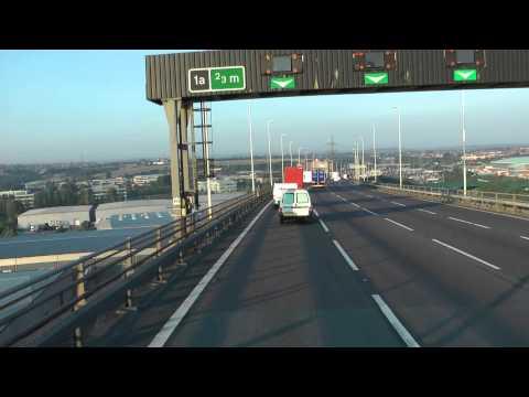 The Queen Elizabeth II Bridge, The Dartford - Thurrock River Crossing