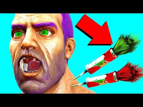 MOST UNDERRATED STEALTH WEAPON! PHEROMONE DARTS! (Ark Survival Evolved Trolling)