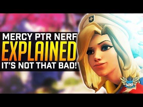 Overwatch - Mercy PTR NERF Explained! - Still the BEST Healer! thumbnail