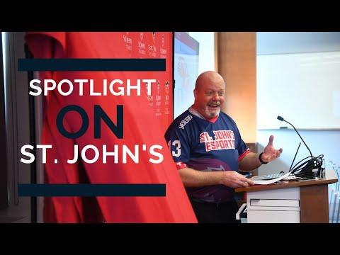 """Spotlight On St John's"" Interview With David P. Hedlund, Ph.D."