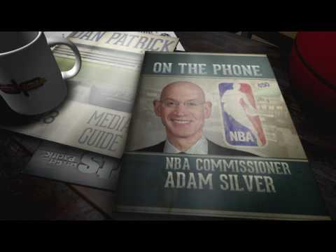 NBA Commissioner Adam Silver Dodges MVP Question (6/26/17)